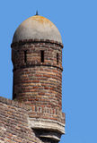 Turret opposite blue sky-5 Royalty Free Stock Images