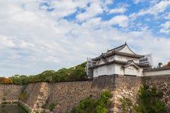 Turret at Osaka Castle in Osaka Stock Photography