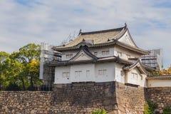 Turret at Osaka Castle in Osaka Royalty Free Stock Images