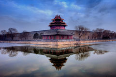 Turret of the palace museum Royalty Free Stock Images