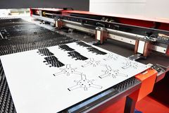 Turret Punch. For stamping sheet steel stock photo