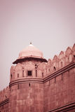 Turret, Red Fort, Delhi, India Stock Photography