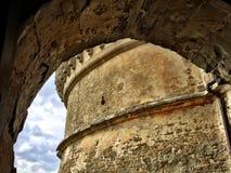 Turret of Rocca, San Leo, Italy Stock Photos
