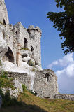 Turret ruined castle Stock Photography