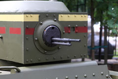 Turret of the tank Royalty Free Stock Photos
