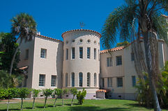 Turret tower on the Crosley Mansion. Royalty Free Stock Photography