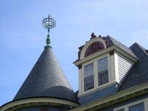 turreted крыша Стоковое Изображение