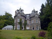 Turreted Scottish Guest House Royalty Free Stock Photo