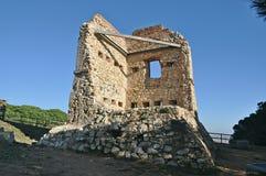 The turrets of Calella-Barcelona Stock Photo