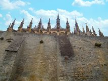 Turrets Cathedral Royalty Free Stock Images