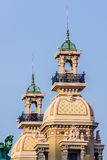 Turrets of Monte Carlo Casino Stock Photos