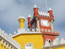 Turrets in the Pena National Palace Royalty Free Stock Photography