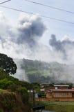 Turrialba Volcano, Costa Rica Royalty Free Stock Image