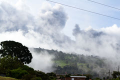 Turrialba Volcano, Costa Rica Royalty Free Stock Images