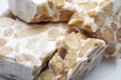 Turron Royalty Free Stock Image