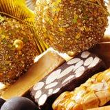 Turron, bonbon espagnol type à Noël Image libre de droits