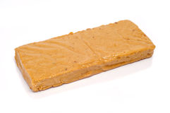 Turron de Jijona, typical sweet of Spain Royalty Free Stock Photo
