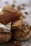 Turron and mantecados, typical christmas sweets in Spain Stock Photos