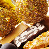 Turron, typical spanish christmas sweet royalty free stock image