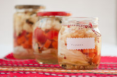 Turshiya van Tsarska - Bulgaarse groenten Royalty-vrije Stock Fotografie