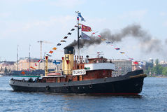 Turso vintage steamboat Royalty Free Stock Image