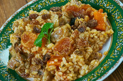 Tursu qovurma plov Stock Photo