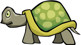Turtle. Cartoon artwork line-art royalty free illustration