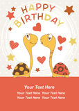 Turtle Birthday - Vector Stock Photography