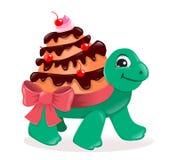 Turtle cake Royalty Free Stock Photo