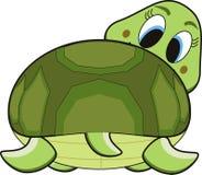 Turtle cartoon royalty free illustration
