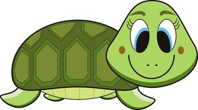 Turtle cartoon Royalty Free Stock Photos