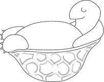 Free Turtle Cartoon Royalty Free Stock Photos - 9663018