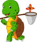 Turtle cartoon. Illustration of  cute turtle cartoon Stock Image
