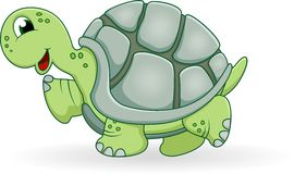 Turtle cartoon Stock Image