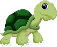 Turtle cartoon Royalty Free Stock Photo