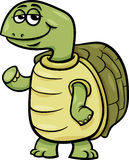 Turtle character cartoon illustration Stock Photo