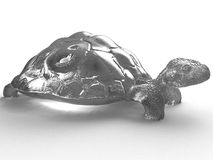 Turtle of crystal №1 Stock Images