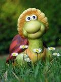 Turtle - decorative garden figurine Royalty Free Stock Photos