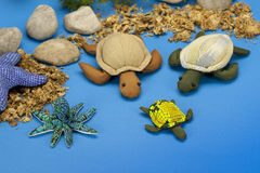 Turtle dolls Royalty Free Stock Images