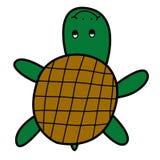 Turtle doodle style Stock Photo