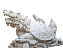 Turtle with dragon head Stock Photography