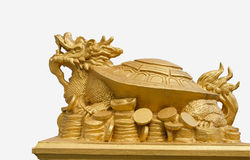 Turtle dragon Stock Photos