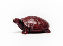 An turtle figure isolated Stock Photo