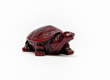 An turtle figure isolated Royalty Free Stock Photography