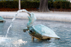 Turtle fountain Royalty Free Stock Photography