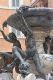 Turtle fountain in Rome Stock Photo