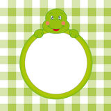 Turtle frame. Royalty Free Stock Image