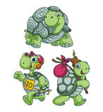 Turtle Funny Cartoon Stock Photo