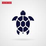 Turtle icon. Turtle icon isolated on white background. Sea animal. Vector symbol vector illustration