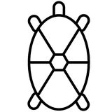 Turtle  icon Royalty Free Stock Photography